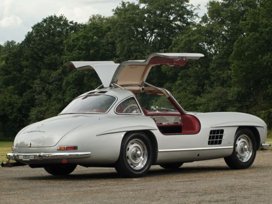A 1955 Mercedes-Benz 300SL Alloy Gullwing to fetch up to £3.2 Millions