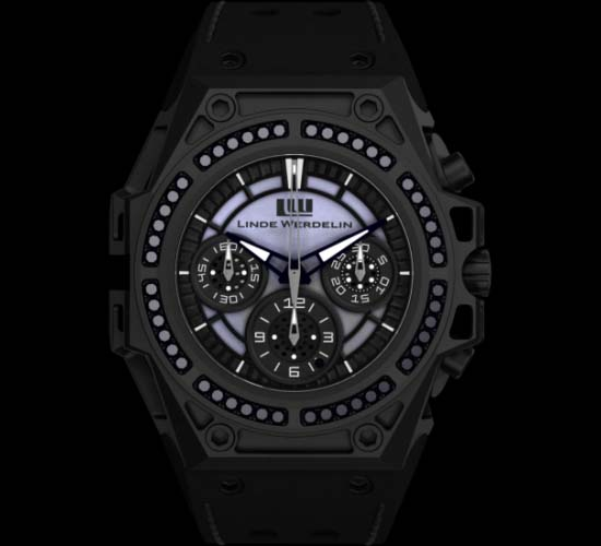 Linde Werdelin SpidoSpeed Black Diamond Chronograph is limited to 50 pieces only