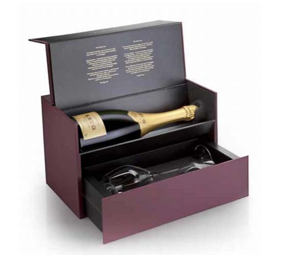 The Krug unveils new Champagne Sharing gift set