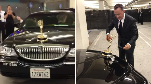 Tom Hanks Lincoln car