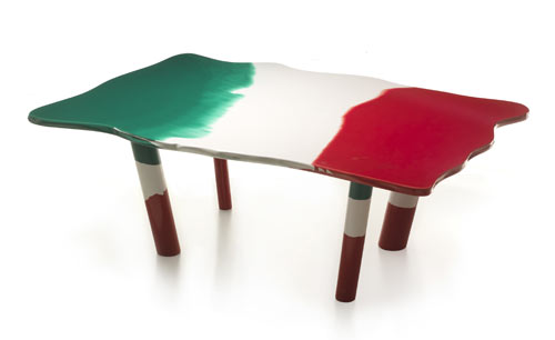 Tables depicting unification of Italy