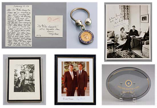 White House Presidential memorabilia goes for sale from private collection