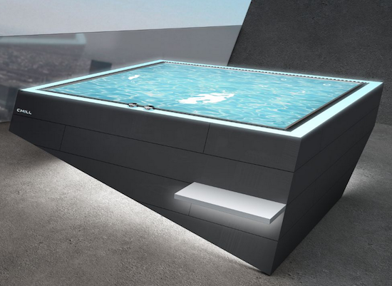 Stainless Steel Hot Tub