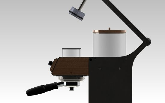 $11,111 Blossom One Limited Edition Coffee Maker is decked in walnut and mahagony