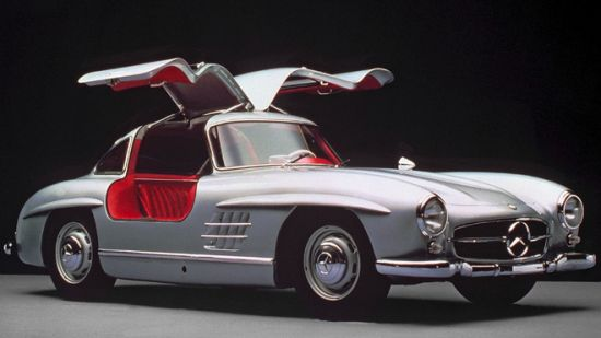 Clark Gable's 1955 Mercedes-Benz 300SL Gullwing Coupe