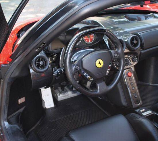 Jenson Button's Ferrari Enzo to fetch $1.6 m at auction