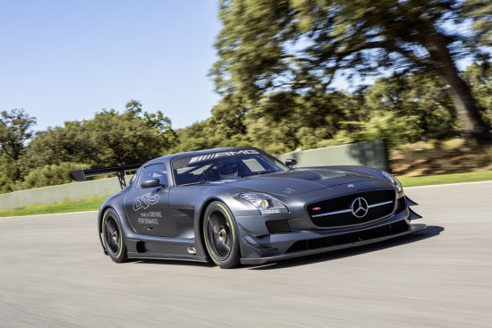 Mercedes SLS AMG GT3 45th Anniversary is aimed at car collectors with a passion for motor racing