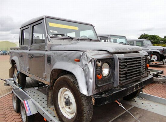Land Rover Defender 110 Double Cab from the movie SkyFall