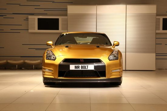 Nissan to auction a custom-edition $100,000 GT-R for Usain Bolt's charity foundation