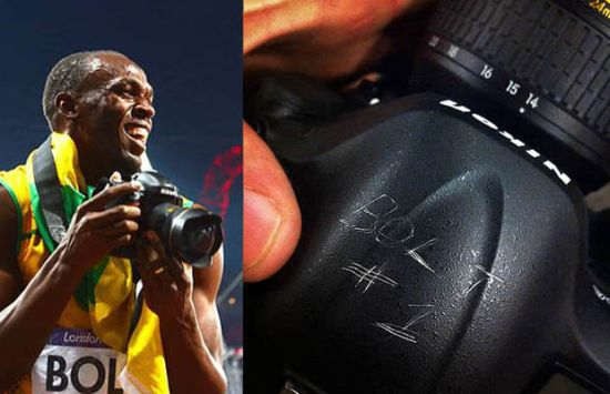 Usain Bolt's Nikon D4 Sells For $7,300 in Charity Auction