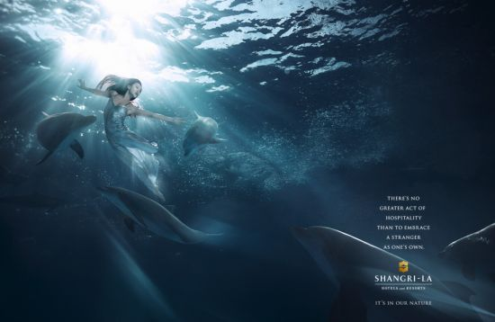 Shangri-La's dramatically different advertising campaign