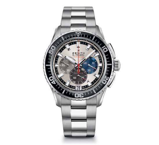 El Primero Stratos Flyback Striking 10th chronograph