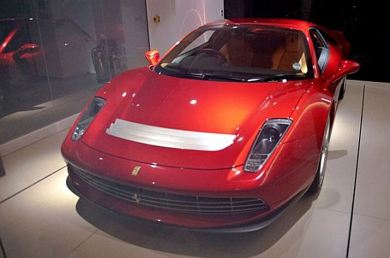 Eric Clapton says there is nothing more precious in the world of Ferrari than having a Ferrari custom built