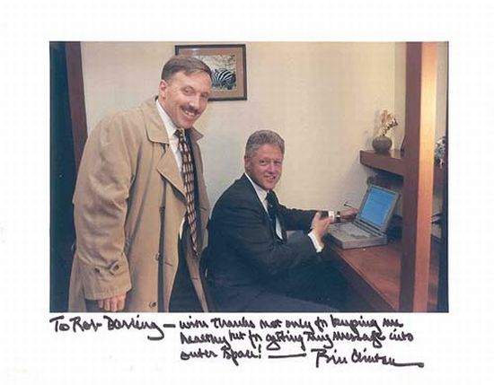 Bill Clinton's laptop used to send his first presidential e-mail is up for sale for $125,000