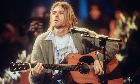 Kurt Cobain's Smashed Nirvana guitar from Smells Like Teen Spirit' video is up for grabs