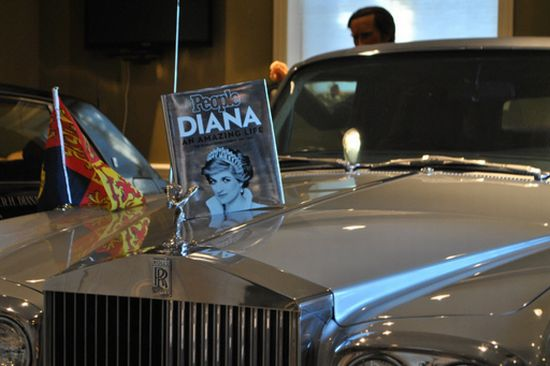 Princess Diana's Armored Rolls Royce