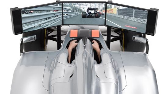 $144,790 Full Size Formula 1 High End Racing Car Simulator is a toy for rich boys