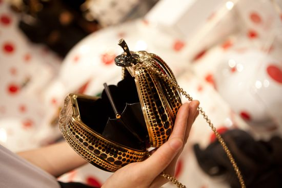 $133,430 Louis Vuitton Jewel Bag Pumpkin Minaudière by Yayoi Kusama to debut at Selfridges