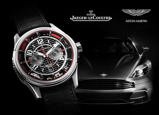Jaeger-LeCoultre and Aston Martin present AMVOX7 chronograph