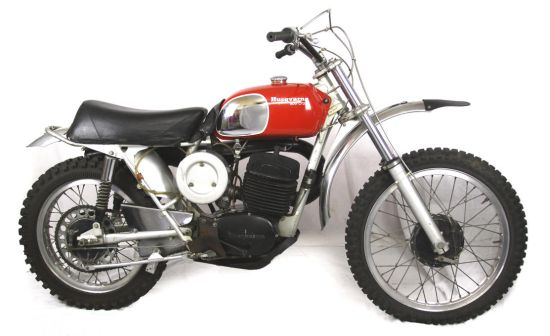 1971 Husqvarna 400 Cross with frame and engine number MI3845