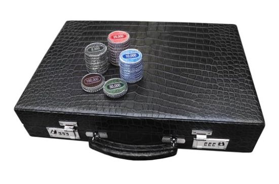 World's most expensive poker set