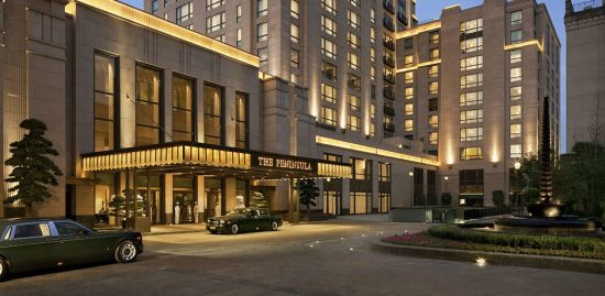 The Peninsula Shanghai Ultimate Wedding Package for 12.12.12 of the Chinese Lunar Year