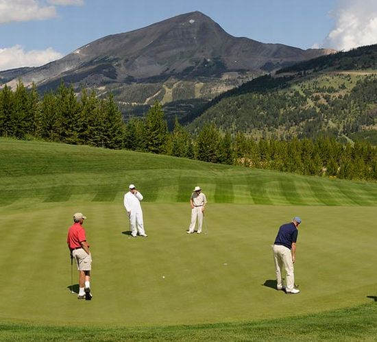 Yellowstone golf course