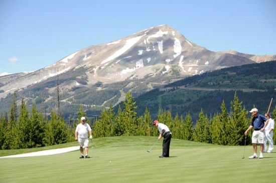 Yellowstone golf