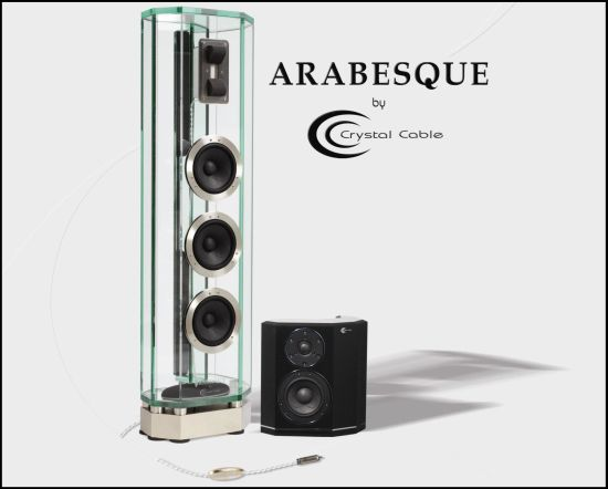 Crystal Cable Arabesque Glass Master speaker