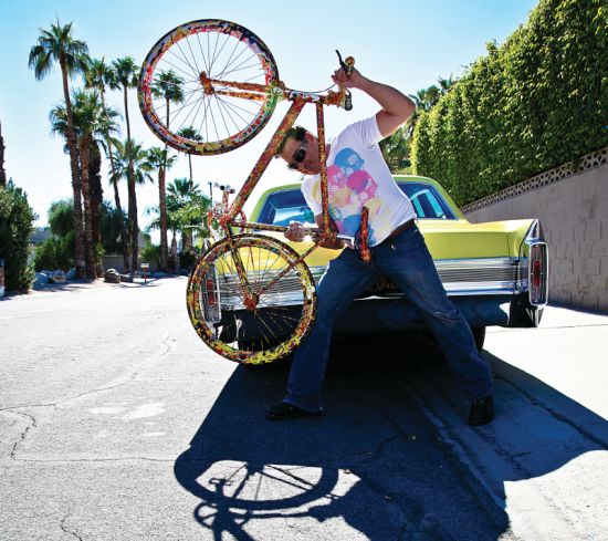 Cosmic artist Jack Armstrong to debut the most expensive $1 million ARTBike: CosmicStar Cruiser
