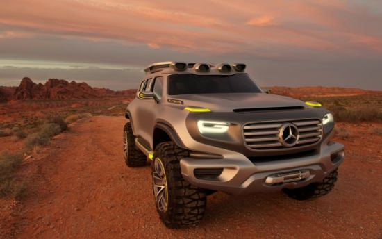 Mercedes-Benz's Ener-G-Force Concept