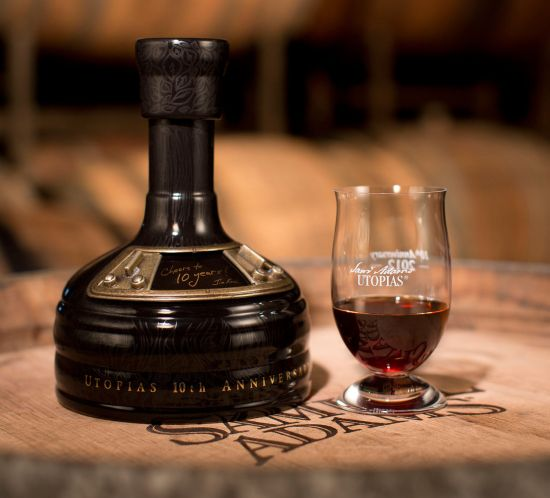 Samuel Adams brews barrel-aged beer aged in bourbon casks