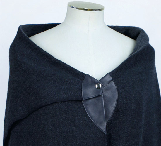 Vuitton Wool Cape