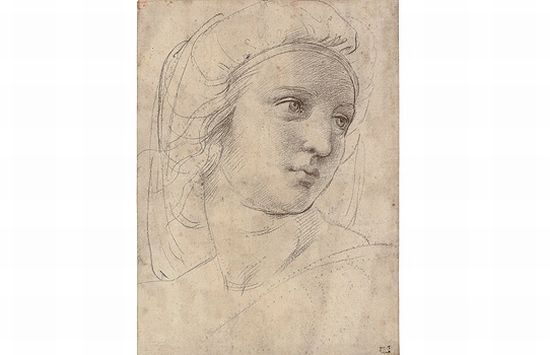 Raphael's 'Head of a Muse'