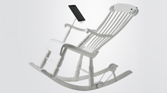 World's first iPad Rocking Chair 'iRock'