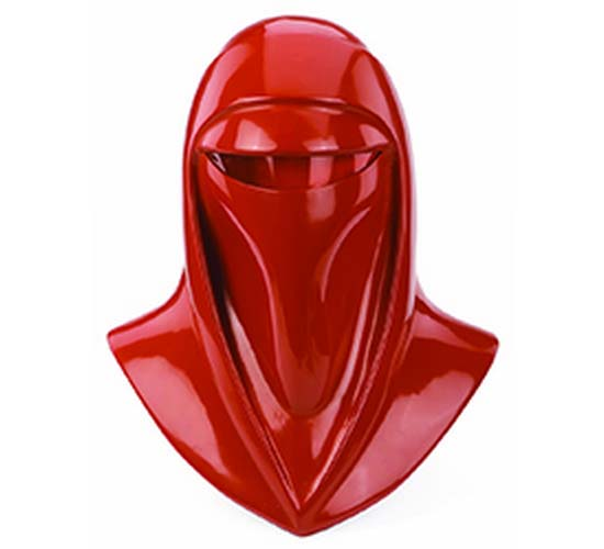 production-made helmet used by the mysterious Imperial Royal Guards