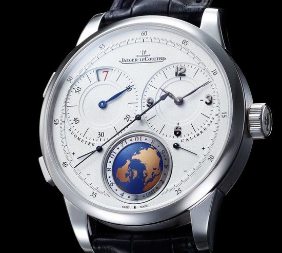 Jaeger-LeCoultre's Duomètre Unique Travel Time Watch