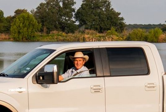 President George W. Bush's 2009 Ford F-150 King Ranch 4X4 SuperCrew up for grabs