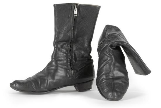 George Harrison's pair of signature 'Beatle' boots, circa 1964