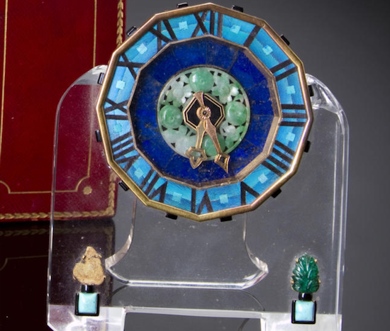 Cartier clock No. 2163