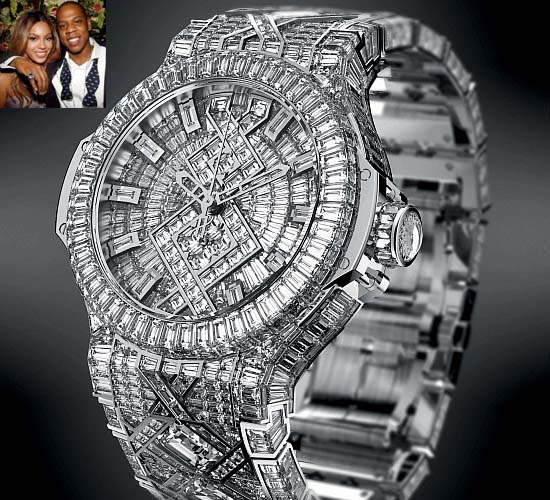 Beyonce's Hublot Big Bang watch gift to Jay-Z