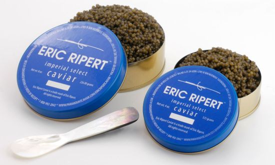 Celebrity Chef Eric Ripert launches his own line of caviar perfect for holiday gift giving