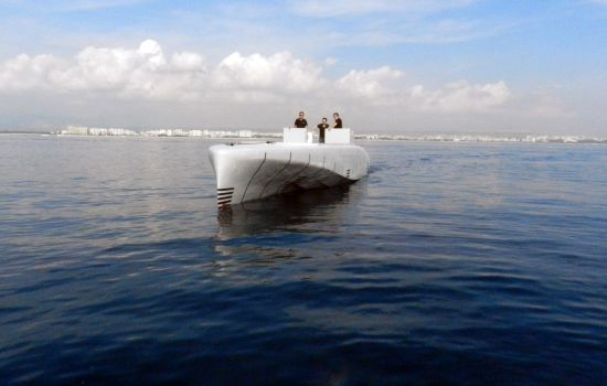 SILVER ARROWS MARINE by Mercedes Benz Style FIRST SEA TRIALS