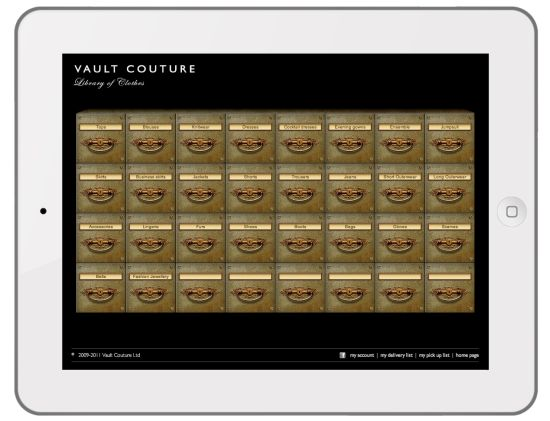 Vault Couture is the ultimate wardrobe-management solution