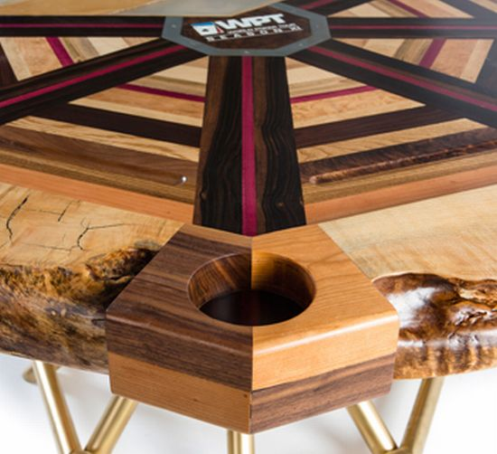 Akke Functional Art 's most expensive poker table 'All in'