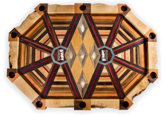 Akke Functional Art 's most expensive poker table 'All in' required 600 man-hours labor to create