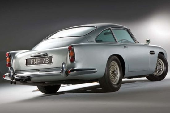 1964 Aston Martin DB5 used in Goldfinger