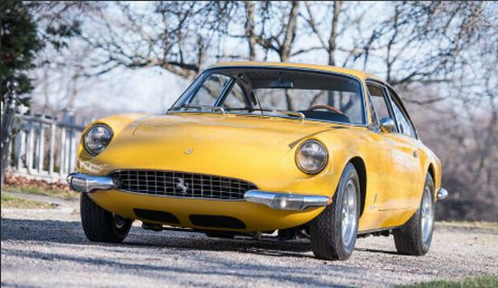 1968 Ferrari 365 GT 2+2 Coupe Chassis No. 11853
