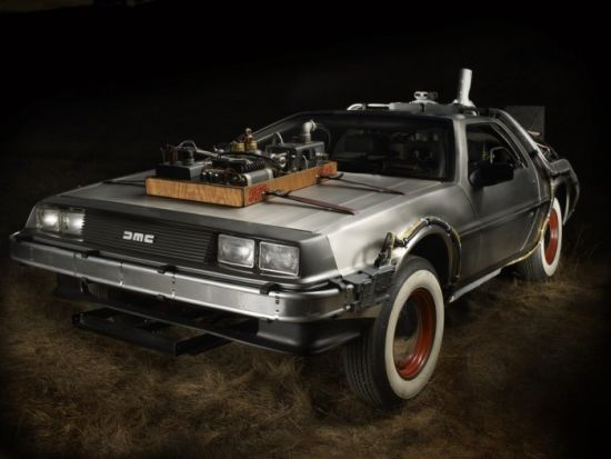 DMC De Loreans used in Back to the Future III
