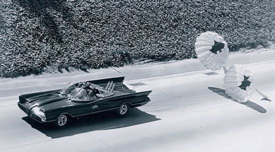 Original 1966 Batmobile by George Barris